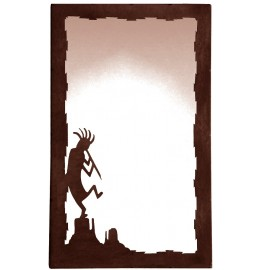 image for Kokopelli Vertical Southwest Wall Mirror 25 x 15