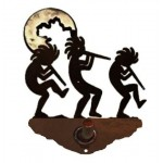 image for Kokopellies Burnished Steel Robe Hook