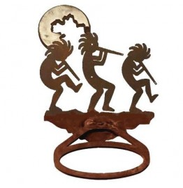 image for Kokopellies Burnished Steel Towel Ring