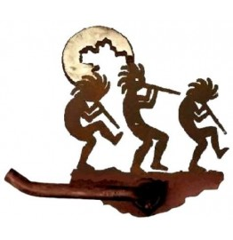 image for Kokopellies Bath Tissue Paper Holder Burnished