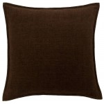 image for Heavenly Espresso Brown Corduroy Eurosham Cover 26 x 26