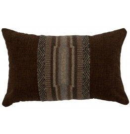 image for Lodge Lux & Brown Corduroy Pillow 12 x 18