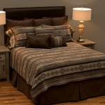 image for BASIC Lodge Lux Southwest Ranch Bed Ensemble Set