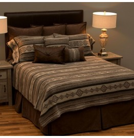 image for DELUXE Lodge Lux Southwest Bed Ensemble Set