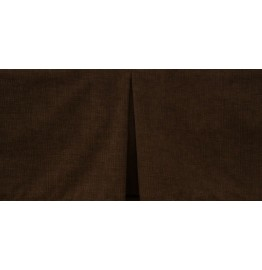 image for Tailored Heavenly Espresso Brown Corduroy Bedskirt