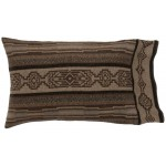 image for Lodge Lux Geometric Southwest Pillow Sham Std & King Sizes