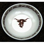 image for Longhorn Western Bonanza Deep Dish Serving Bowl