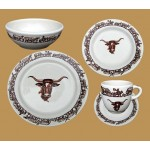 image for Longhorn Western Dinnerware 5-Pc Place Setting