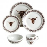 image for Longhorn Western Dinnerware 20-Pc Set NO Saucer