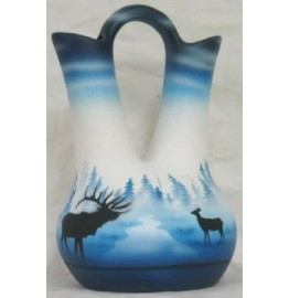image for Magic Mountain Navajo Wedding Vase 7.5 x 12