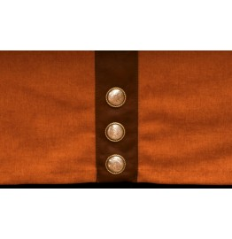 image for Tailored Caprice Clay Leather Trimmed Bedskirt