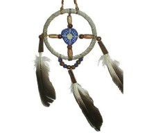 image for Mini Medicine Wheel Southwest Christmas Ornament