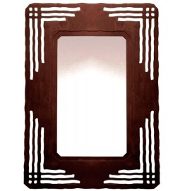 image for Southwest Misson Design Steel Wall Mirror 30 x 20