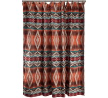 image for Mojave Sunset Southwestern Fabric Shower Curtain