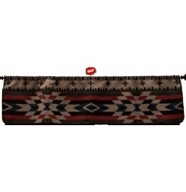 image for Mojave Geometric Rod Pocket Valance 60 x 15 **DISCONTINUED