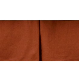 image for Rust Color Linen Paprika Tailored Bed Skirt