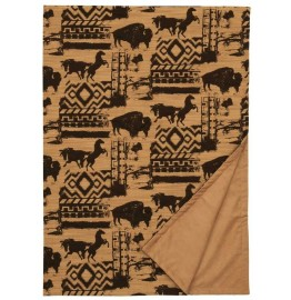 image for Petroglyph Great Plains Southwest Throw Blanket 55 x 72