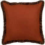 image for Monument II Paprika Linen EuroSham Pillow Cover 26x26