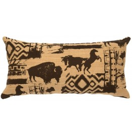 image for Petroglyph Great Plains Throw Pillow 13x26