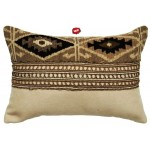 image for Mountain Storm Throw Pillow 12 x 18