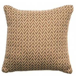 image for Mountain Storm Alps Linen Throw Pillow 16 x 16