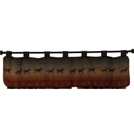 image for Mustang Canyon Tab Valance 60 x 17