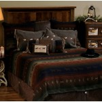image for BASIC Mustang Canyon Western Bed Ensemble Set