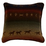 image for Mustang Canyon Western Eurosham Pillow Cover  26 x 26