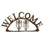 image for Mystic Yei Figures Southwestern Welcome Sign