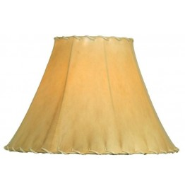 image for Natural Rawhide Sheepskin Leather Lampshade 10.5 x 14