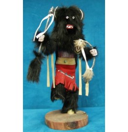 image for BUFFALO Kachina Doll Navajo Made 3 sizes