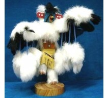 image for EAGLE DANCER Kachina Doll Navajo Made 12 INCH