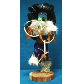 image for HOOP Kachina Doll Navajo Made 3 sizes
