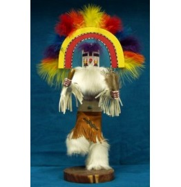 image for RAINBOW Kachina Doll Navajo Made 3 sizes