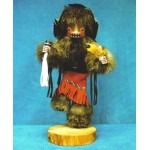 image for BADGER Kachina Doll Navajo Made 3 sizes