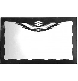 image for CUSTOM Navajo Design Horizontal Southwest Wall Mirror 40 X 30