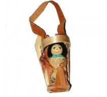 image for Navajo Cradleboard & Doll Southwest Christmas Ornament