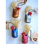 image for Navajo Folk Art Chicken Christmas Ornaments - SET OF 30