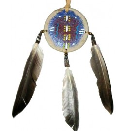 image for Mini Navajo Shield Southwest Christmas Ornament
