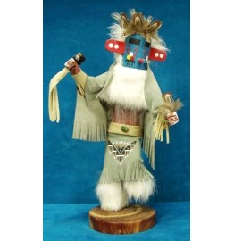 image for MORNING SINGER Kachina Doll Navajo Made 3 sizes