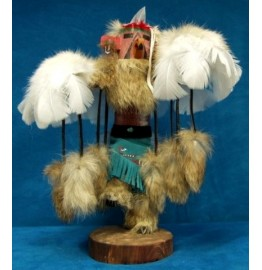 image for RED TAIL HAWK Kachina Doll Navajo Made 3 sizes
