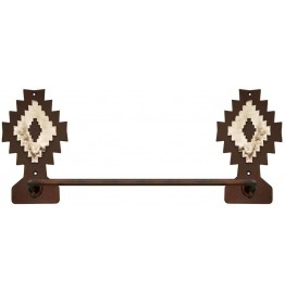 image for Desert Diamond Hand Towel Bar Burnished