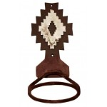 image for Desert Diamond Towel Ring Burnished