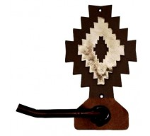image for Desert Diamond Bath Tissue Holder Burnished