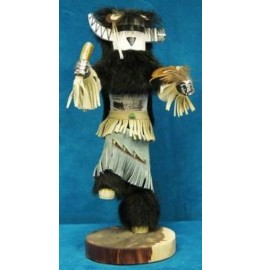 image for RAIN PRIEST Kachina Doll Navajo Made 3 sizes