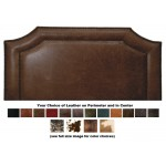 image for Outlaw Leather Upholstered CAL-KING Headboard