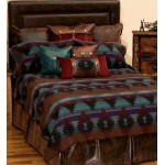 image for A VALUE Painted Desert II Southwest Bed Ensemble Set