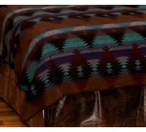 image for Painted Desert II  Southwest Saddleblanket Bedspread