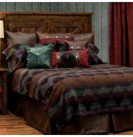 image for BASIC Painted Desert III Southwest Bed Ensemble Set