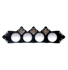 image for Picture Jasper Stone Vanity Light Bar 4 bulb